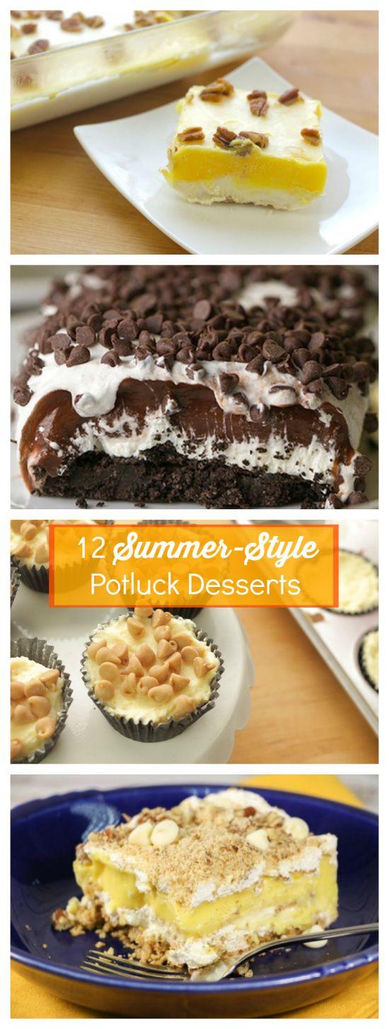 Winning Potluck Dessert Recipes  654 best images about Dessert Recipes on Pinterest