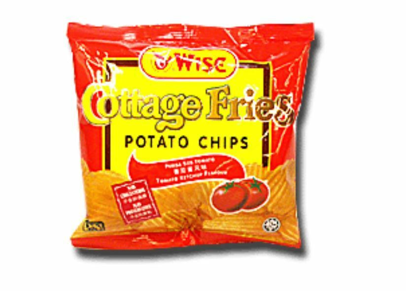 Wise Potato Chips  3 Packs of Wise Cottage Fries Potato Chips 22G