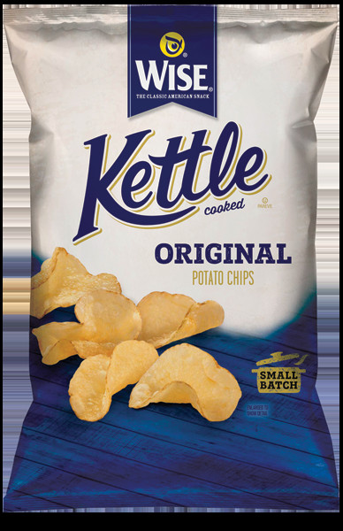 Wise Potato Chips  Kettle Cooked Original – Wise Storefront