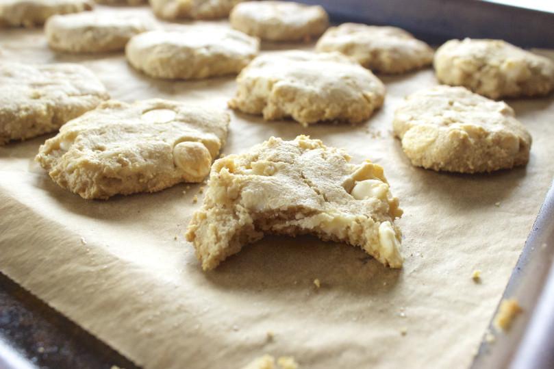 Word Cookies Chocolate 20  White Chocolate Chip Macadamia Nut Cookies – Pampered Paleo
