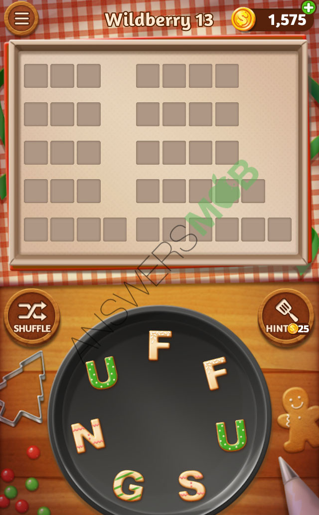 Word Cookies Chocolate 20  Word Cookies Wildberry Answers Level 13 AnswersMob