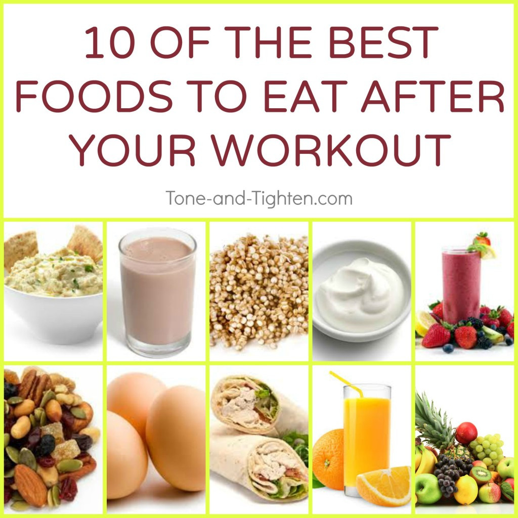 Workout Before Or After Dinner  Best Food To Eat After A Workout