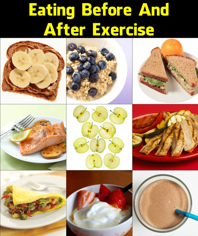 Workout Before Or After Dinner  Eating Before and After Exercise