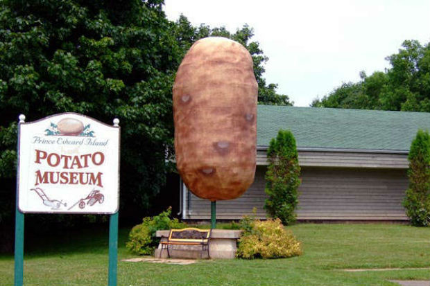 Worlds Biggest Potato  Top 10 st Landmarks in Canada The Good the Big