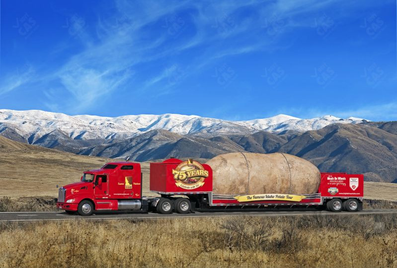 Worlds Biggest Potato  Ľudia vzdávajú pocty už kadečomu