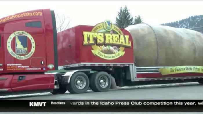 Worlds Biggest Potato  World s largest potato on the road again e News Page VIDEO