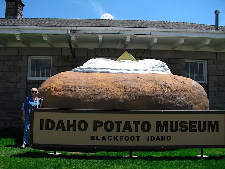 Worlds Biggest Potato  17 Best images about state of Idaho on Pinterest