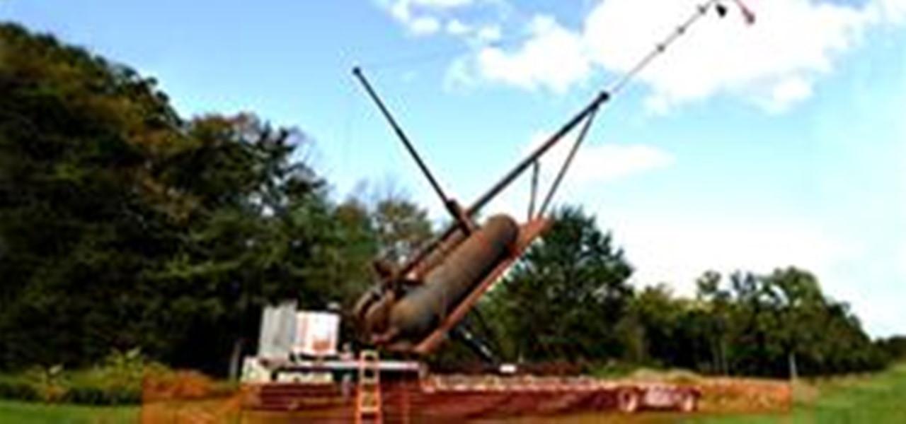 Worlds Biggest Potato  World s Biggest Pumpkin Cannon Shoots at 600 MPH