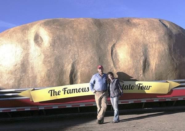 Worlds Biggest Potato  Meet the makers of Idaho's biggest potatoes Idaho