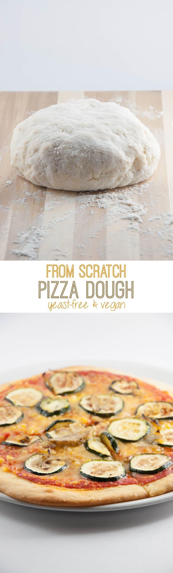 Yeast Free Pizza Dough  Yeast Free Vegan Pizza Dough veganpizzaparty