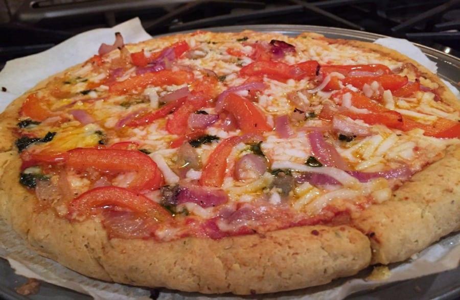 Yeast Free Pizza Dough  yeast free pizza dough