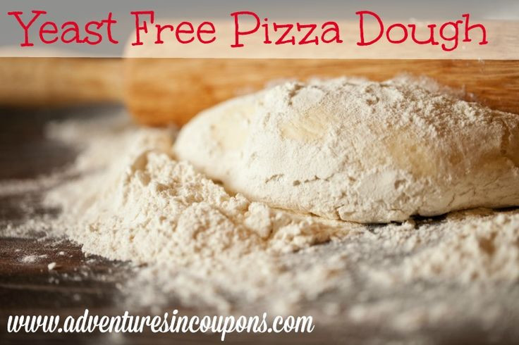 Yeast Free Pizza Dough  Yeast Free Pizza Dough Recipe Adventures in Coupons