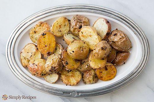 Yellow Potato Recipes  Roasted New Potatoes Recipe