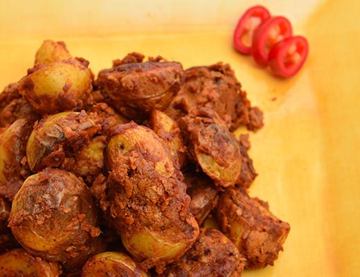 Yellow Potato Recipes  Soyrizo and Roasted Baby Dutch Yellow Potatoes