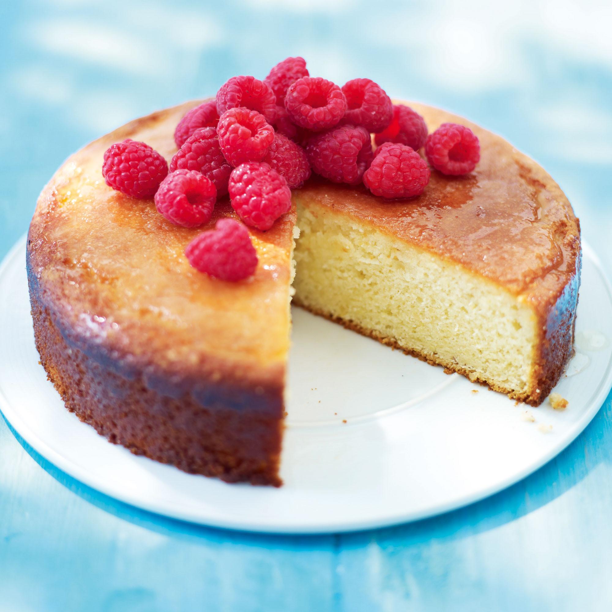 Yogurt Cake Recipe  Lemon Almond and Yogurt Cake Woman And Home