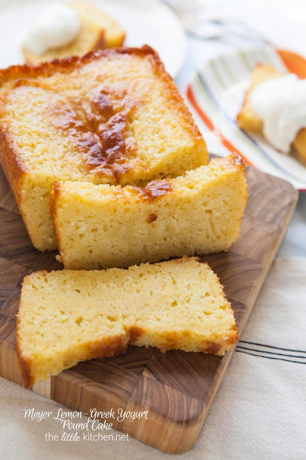 Yogurt Cake Recipe  Meyer Lemon Greek Yogurt Pound Cake