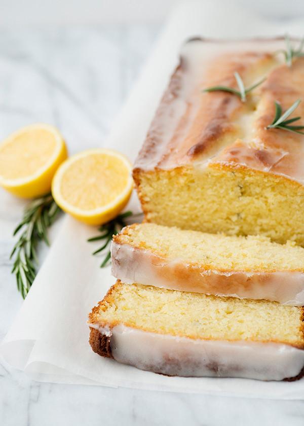 Yogurt Cake Recipe  Lemon Rosemary Yogurt Cake Baked Bree
