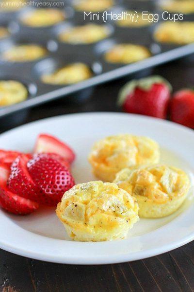 Yummy Breakfast Recipes  Mini Egg Breakfast Muffins Yummy Healthy Easy