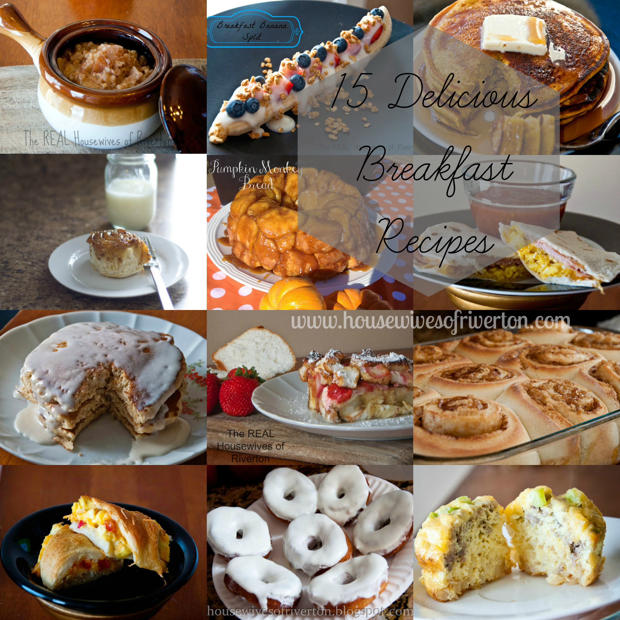 Yummy Breakfast Recipes  15 Delicious Breakfast Recipes Housewives of Riverton