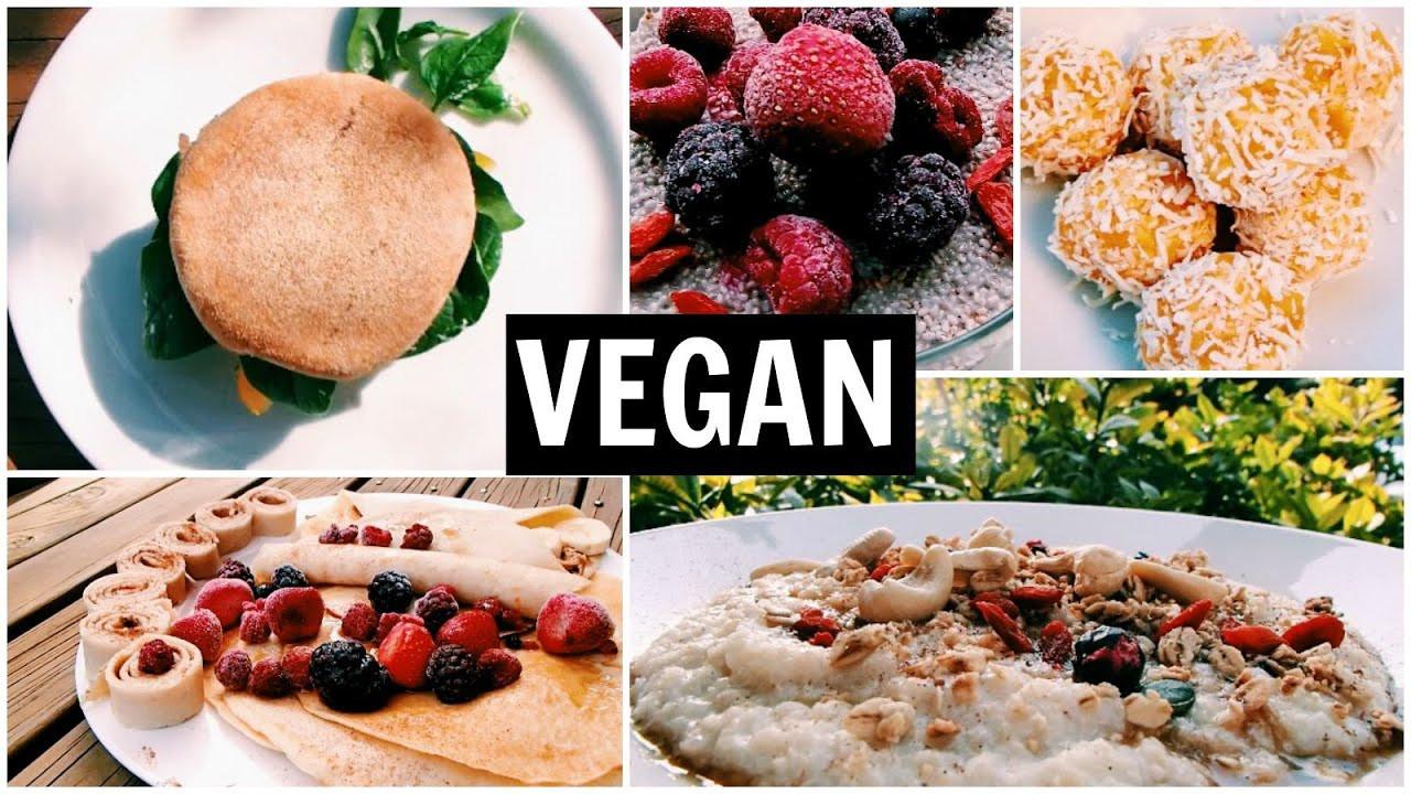 Yummy Breakfast Recipes  5 Easy Yummy VEGAN Healthy Breakfast Recipe Ideas