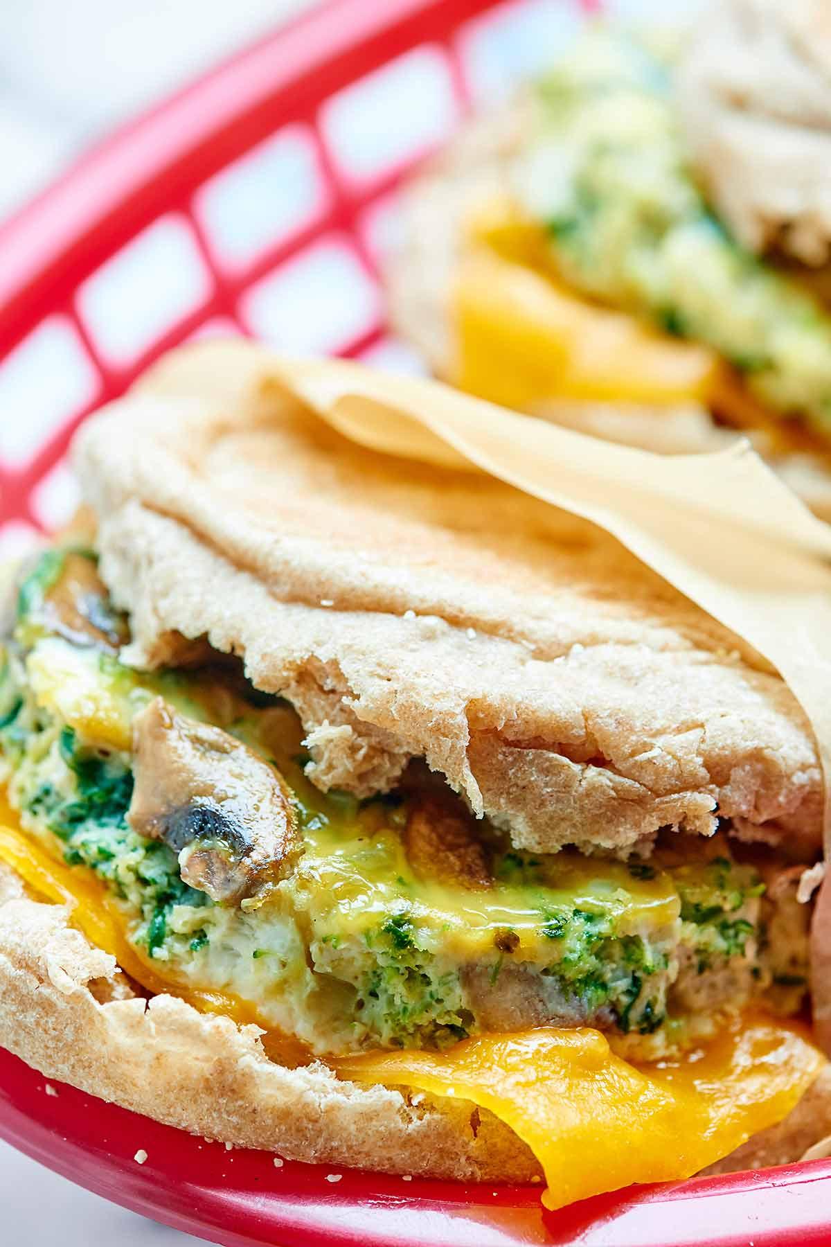 Yummy Breakfast Recipes  Healthy Breakfast Sandwich Make Ahead Freezer Friendly