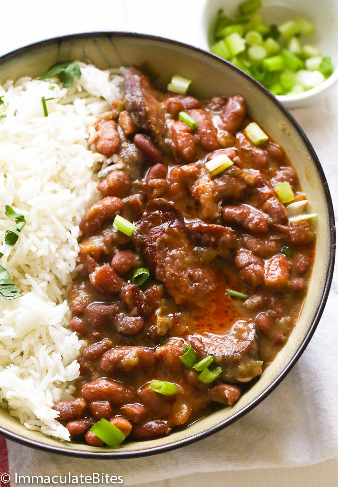 Zatarain'S Red Beans And Rice  Red Beans and Rice Recipe Immaculate Bites
