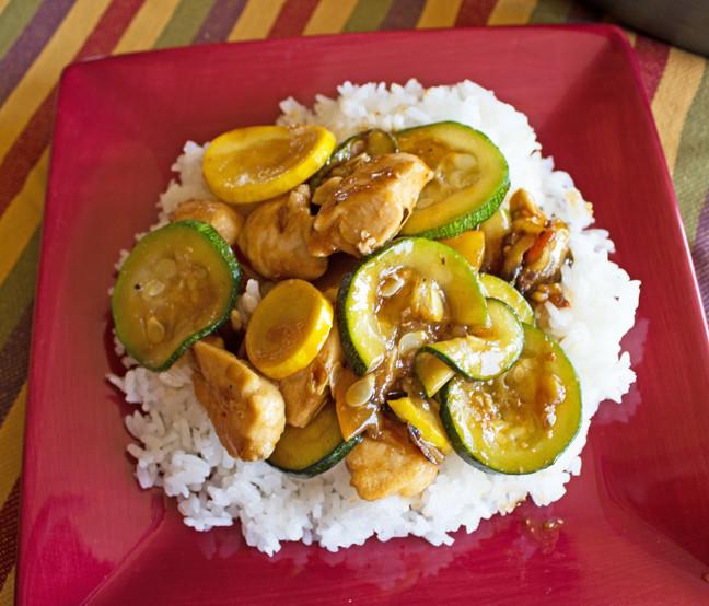 Zucchini And Chicken  chicken zucchini squash recipes