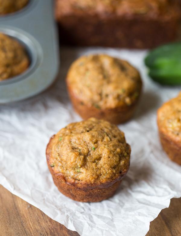 Zucchini Bread Muffins  Zucchini Banana Muffins and Bread