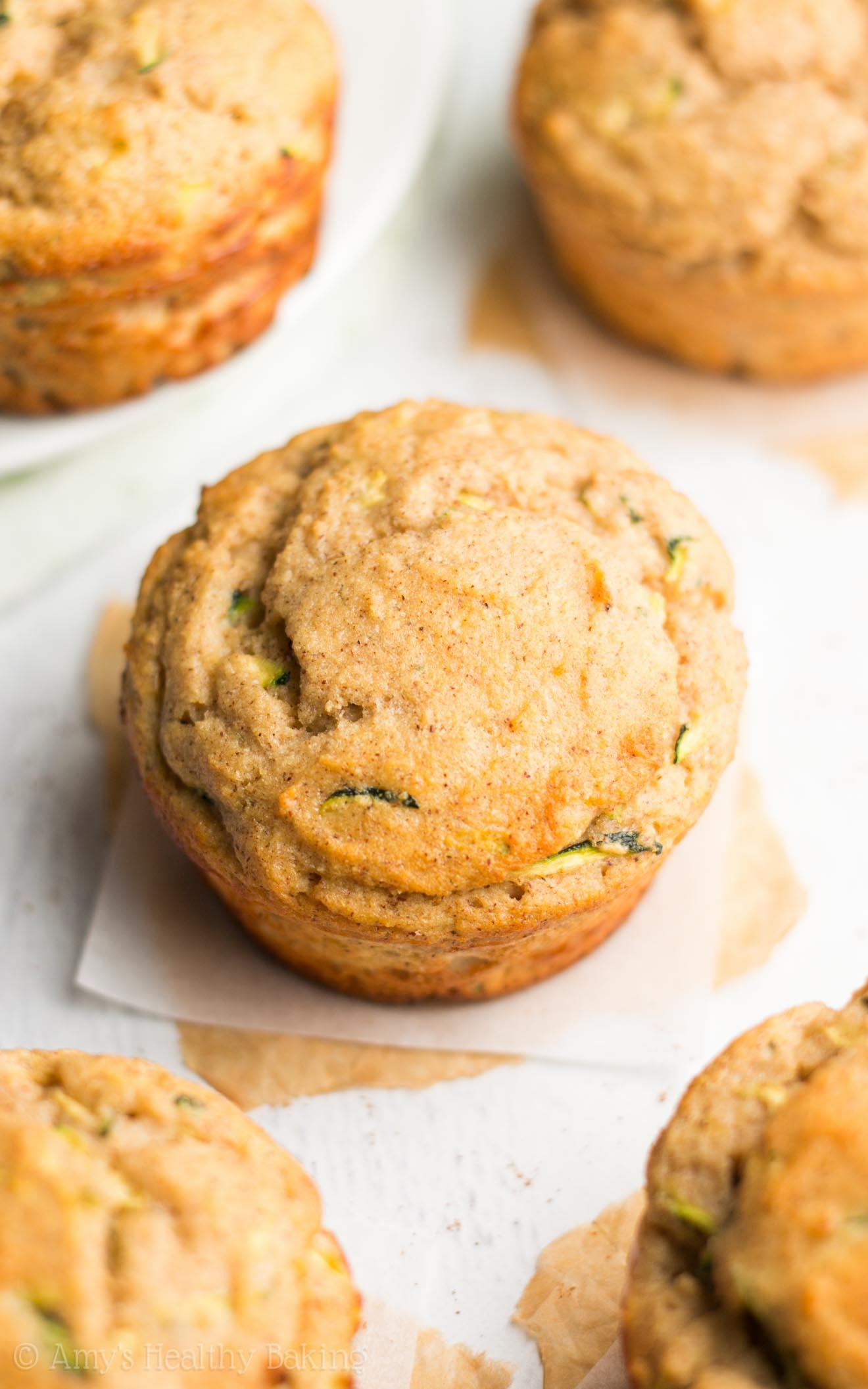 Zucchini Bread Muffins  Zucchini Bread Protein Muffins
