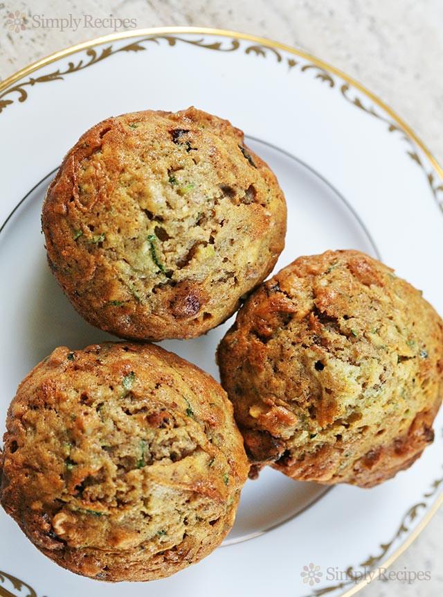 Zucchini Bread Muffins  Zucchini Muffins Recipe