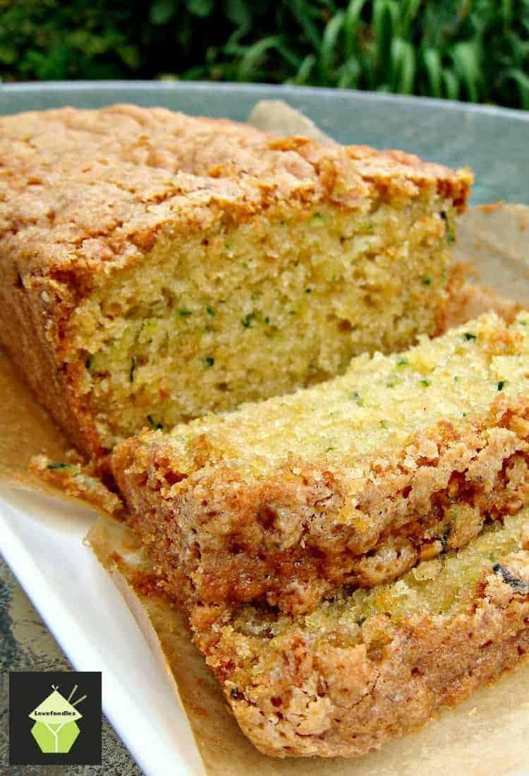 Zucchini Bread Recipe  Super Moist Zucchini Bread A wonderful soft loaf cake