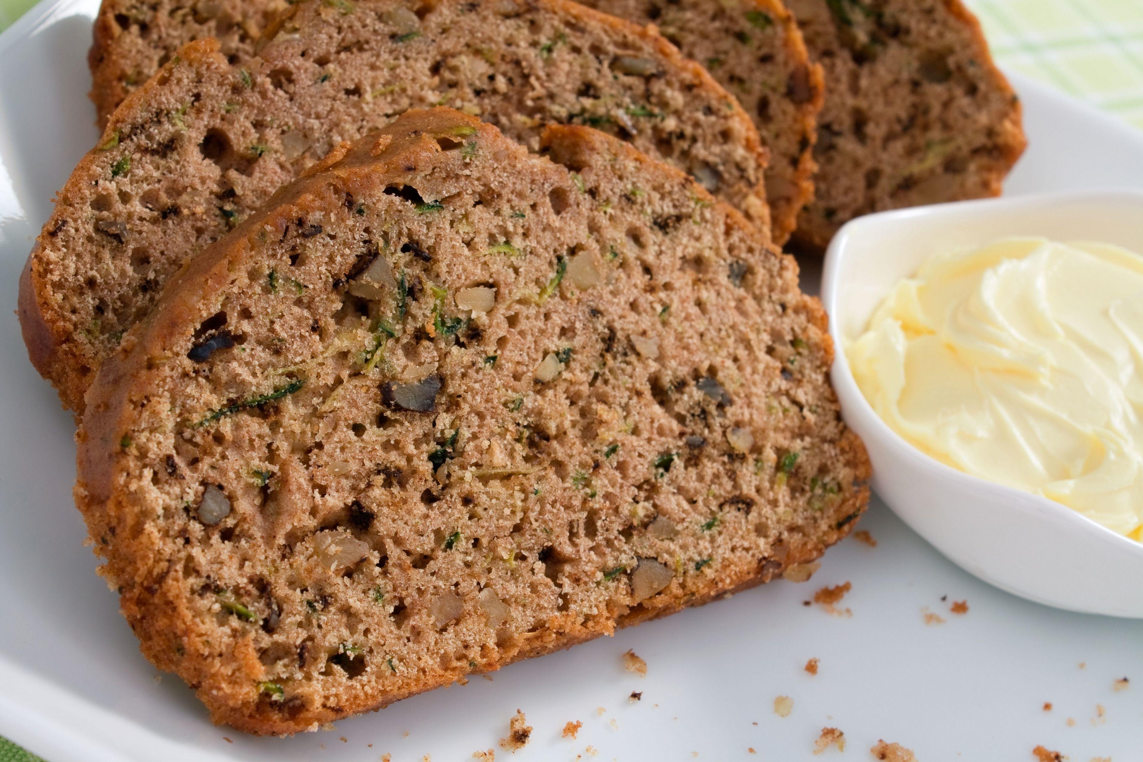 Zucchini Bread Recipe  Skinny Zucchini Bread