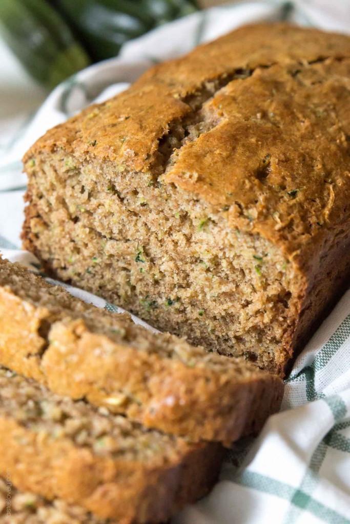 Zucchini Bread Recipe  zucchini bread with coconut oil