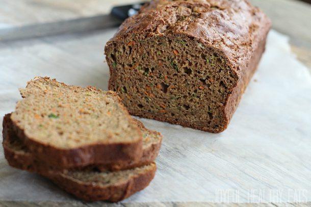 Zucchini Carrot Bread  gluten free zucchini carrot bread