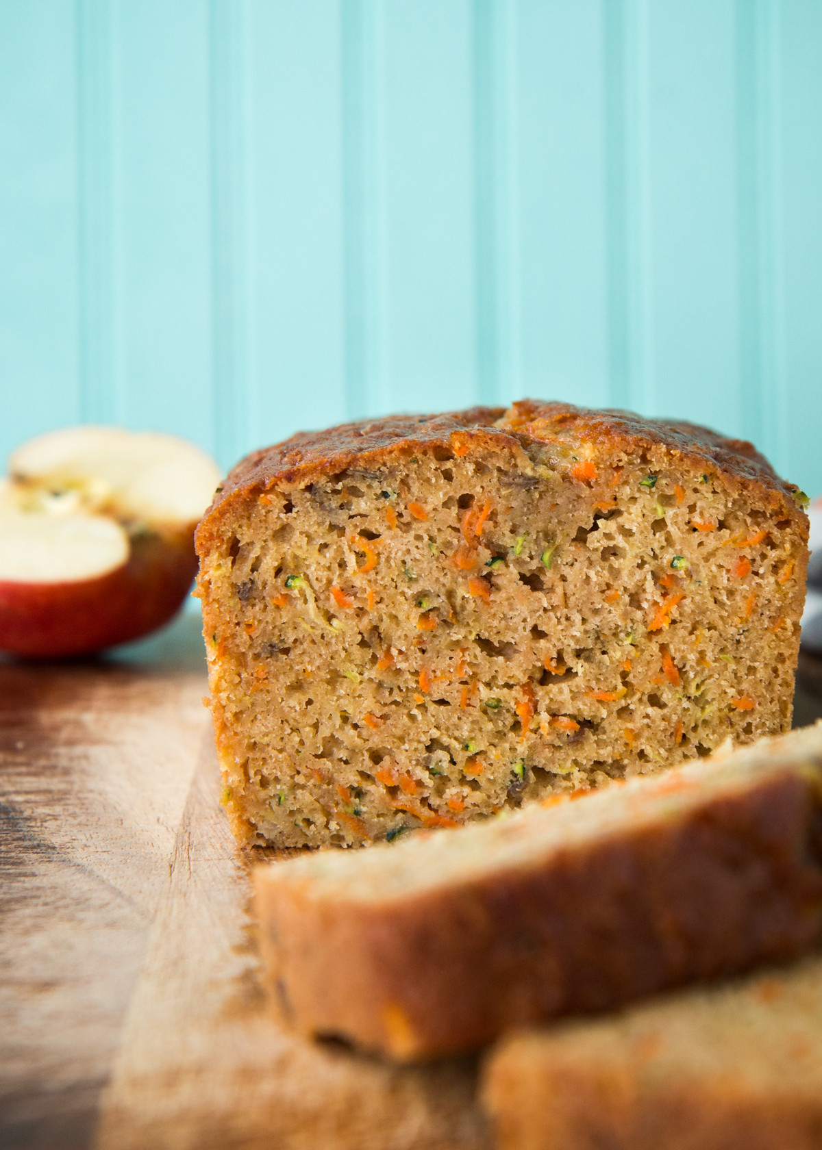 Zucchini Carrot Bread  Zucchini Carrot Apple Bread