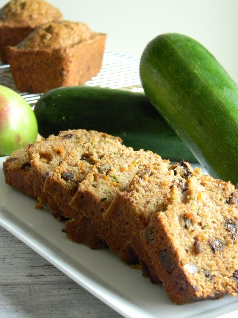 Zucchini Carrot Bread  The Baker s Daughter Zucchini carrot and apple bread