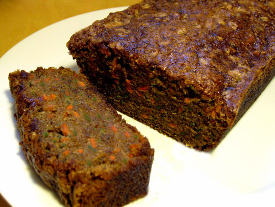 Zucchini Carrot Bread  Recipe For Carrot Zucchini Bread