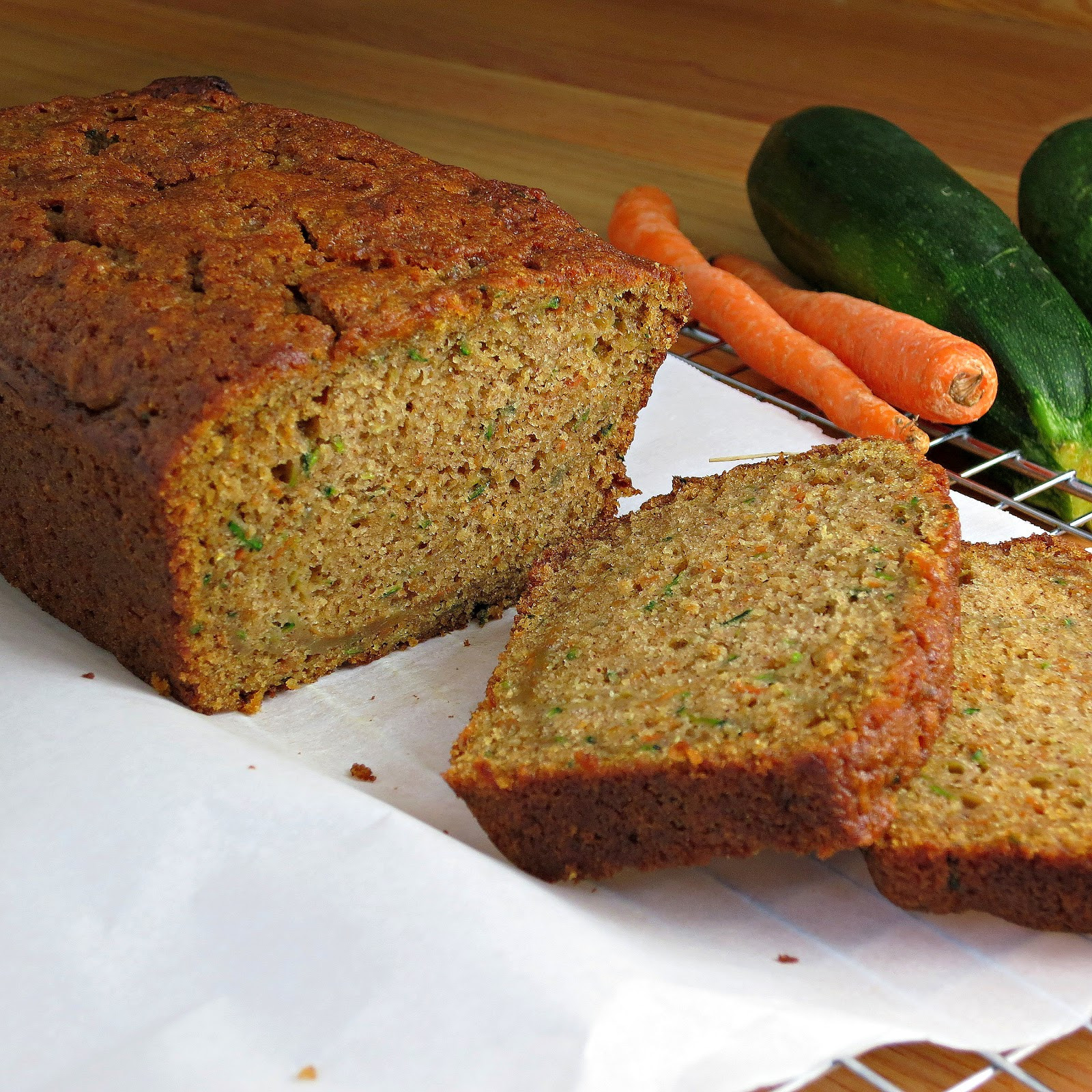 Zucchini Carrot Bread  Carrot Zucchini Bread Alida s Kitchen