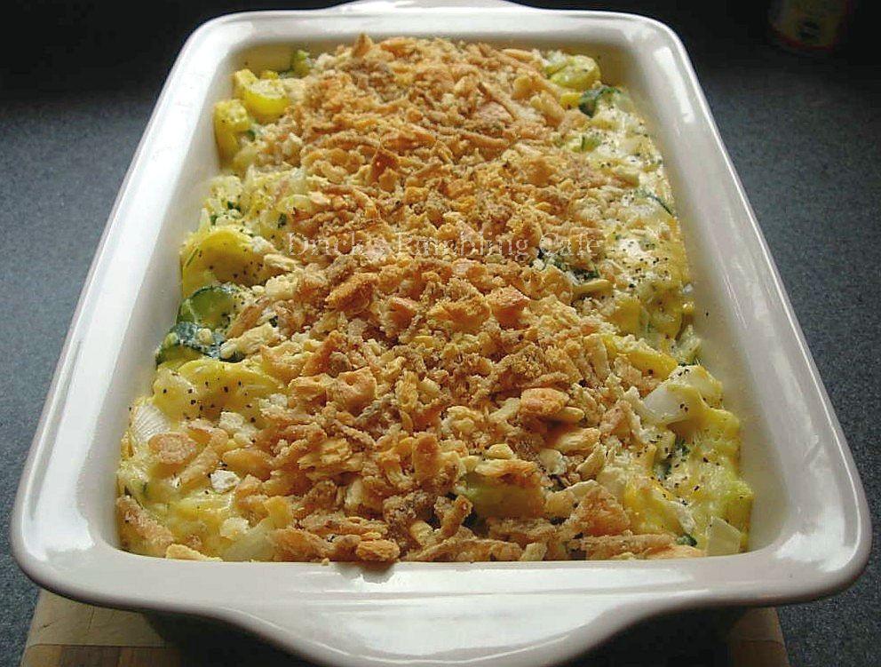Zucchini Casserole Recipe  Yellow Squash and Zucchini Casserole Drick s Rambling Cafe