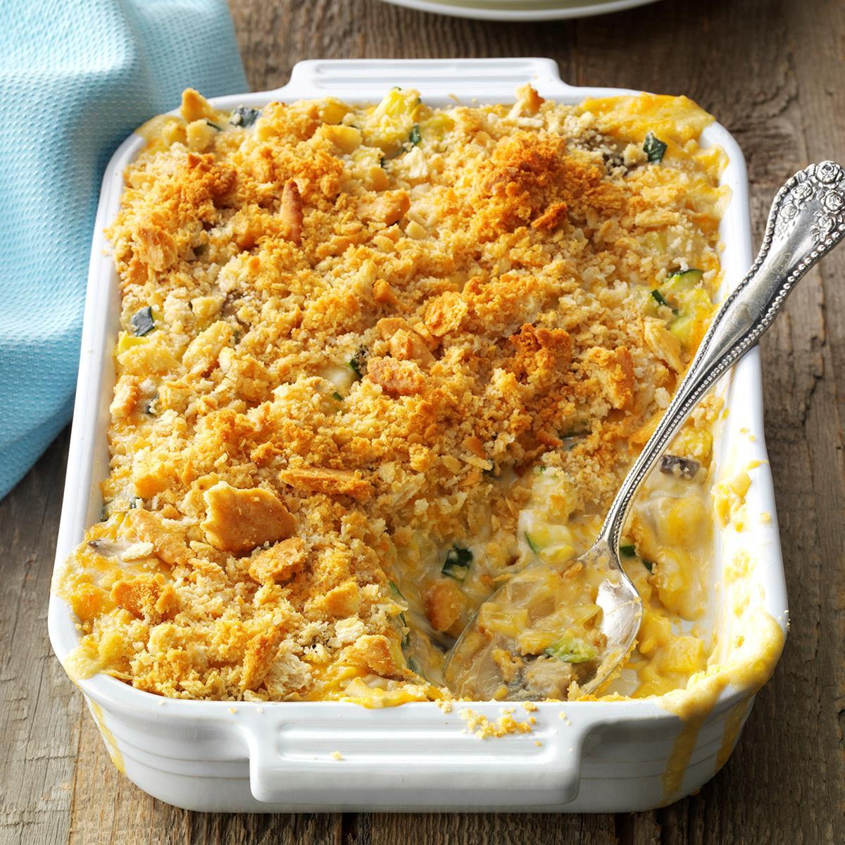 Zucchini Casserole Recipe  zucchini squash casserole