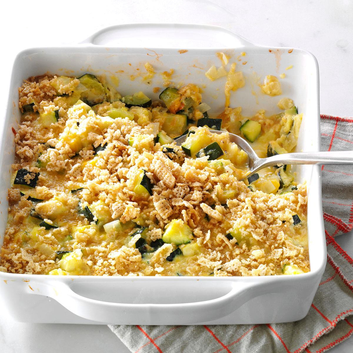 Zucchini Casserole Recipe  zucchini casserole ritz crackers