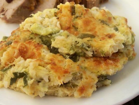 Zucchini Casserole Recipe  zucchini cheddar casserole