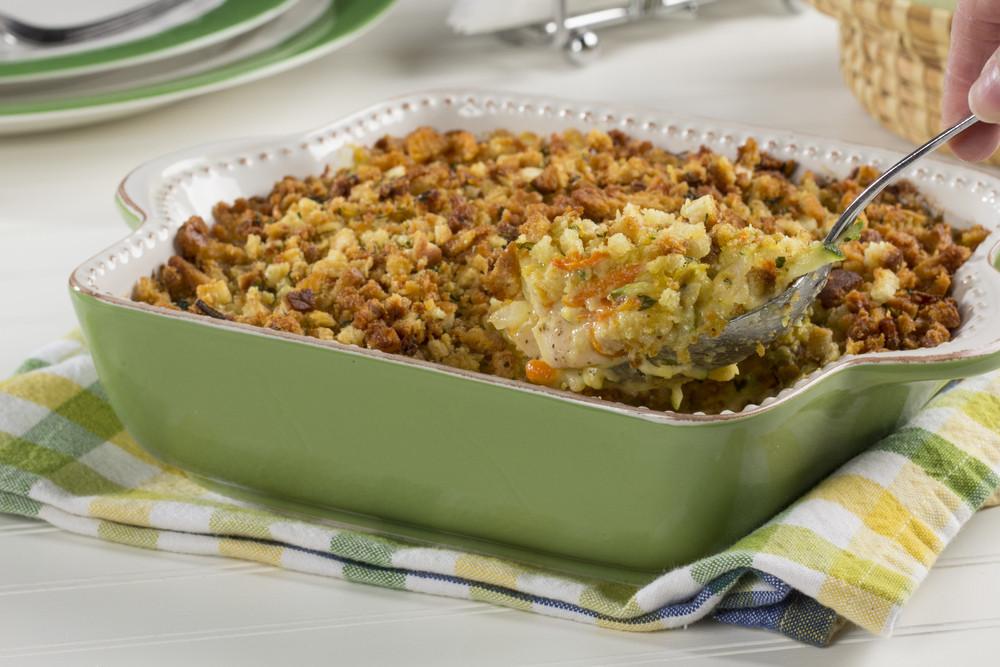 Zucchini Casserole Recipe  Chicken Zucchini Casserole