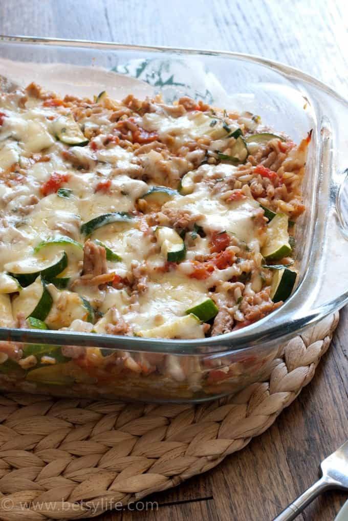 Zucchini Casserole Recipe  Make Ahead Freezer Breakfast Bowls