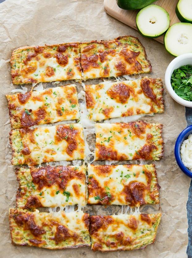 Zucchini Cheese Bread  Zucchini Breadsticks Kirbie s Cravings