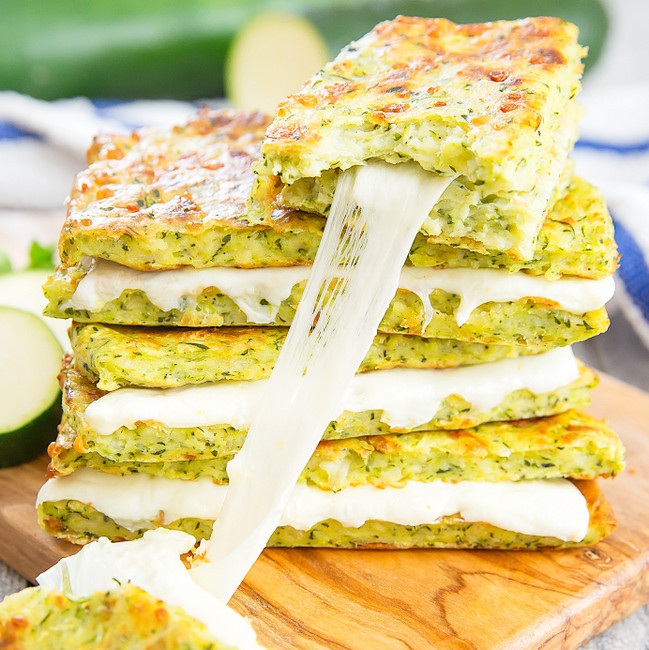 Zucchini Cheese Bread  Zucchini Crusted Grilled Cheese Sandwiches Kirbie s Cravings