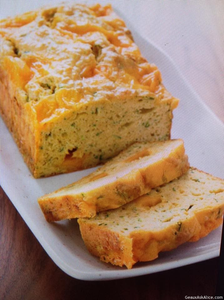 Zucchini Cheese Bread  Zucchini Cheese Bread Geaux Ask Alice