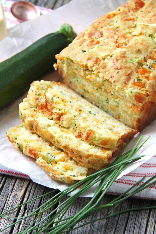 Zucchini Cheese Bread  17 Easy Recipes That Actually Make Zucchini Interesting