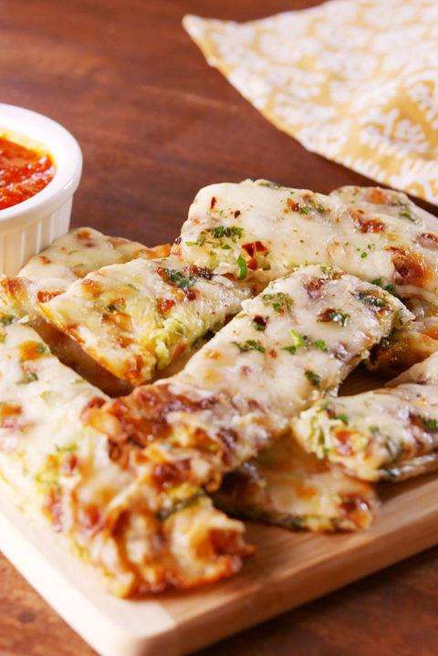Zucchini Cheesy Bread  60 Best Healthy Snack Ideas Easy Recipes for Healthier