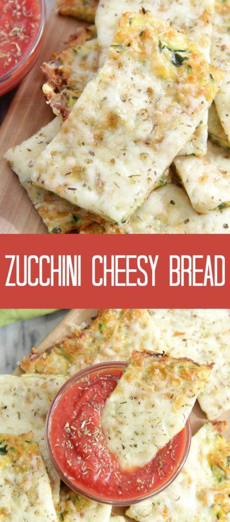 Zucchini Cheesy Bread  Zucchini Cheesy Bread Eat Drink Love